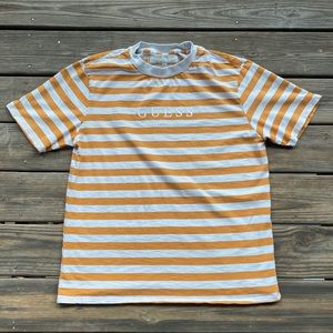 Vintage essential striped Guess T-Shirt Mens sz L